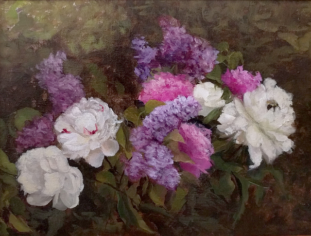, 'Peonies and Lilacs,' , Somerville Manning Gallery