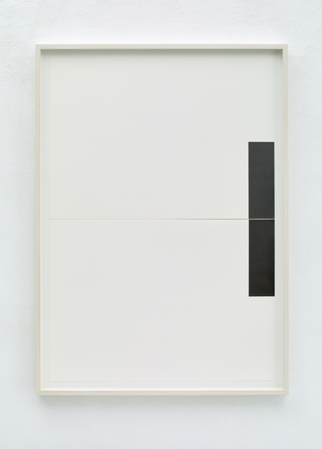 Frank Gerritz, 'Two Center Connection I  ', 2015, Drawing, Collage or other Work on Paper, Pencil on paper, Bartha Contemporary