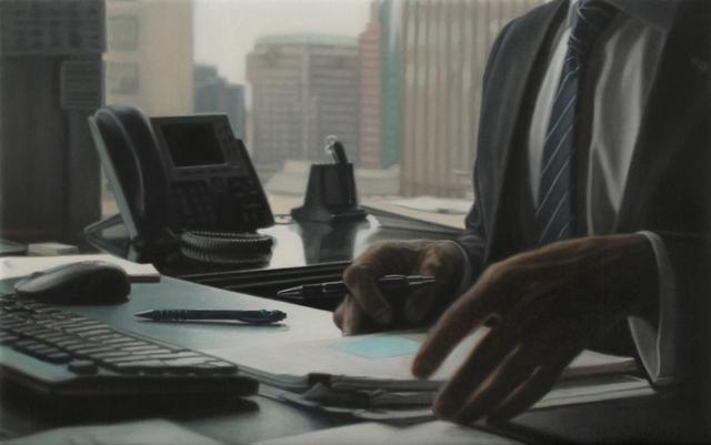 , 'Office 2,' 2014, Galerie de Bellefeuille