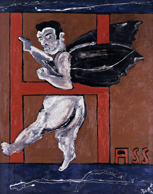 , 'Selbst als Hass-Engelchen (Self-Portrait as a Little Angel of Hate),' 1988, Marlborough London