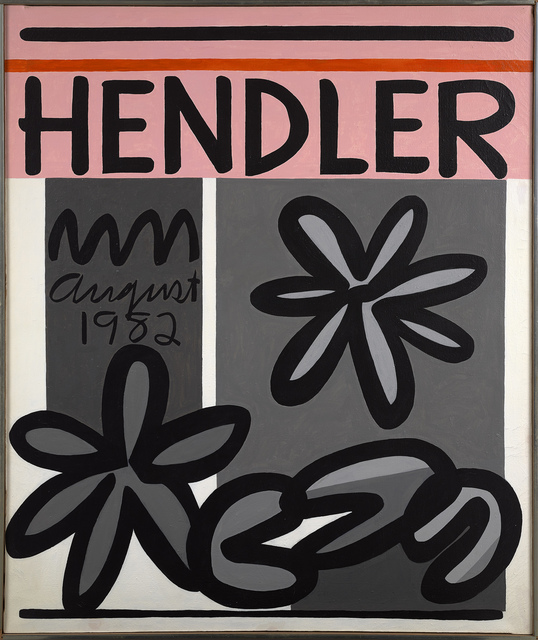 , 'Hendler August 1982,' 1982, Berry Campbell Gallery