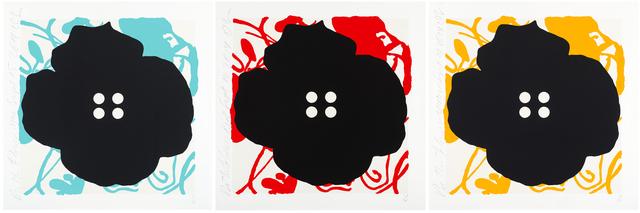 Donald Sultan, 'Button Flowers', 2014, Alan Avery Art Company