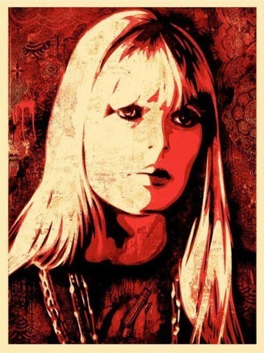Shepard Fairey, 'Nico', 2010, DIGARD AUCTION