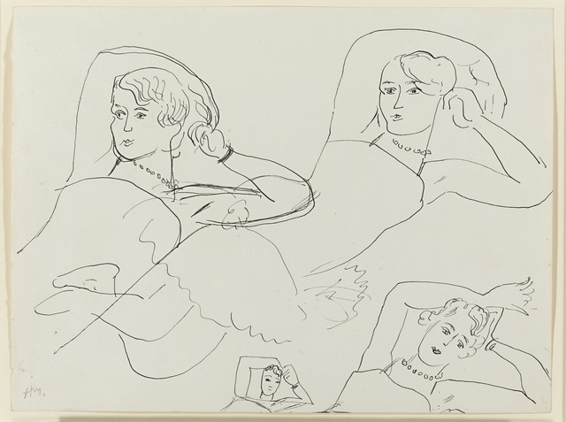 Henri Matisse, 'Quatre études d'une ballerine', 1927, Opera Gallery