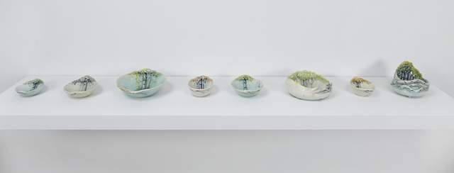 , 'Aspen Bowls and Forest Vessels,' 2016, Jane Hartsook Gallery