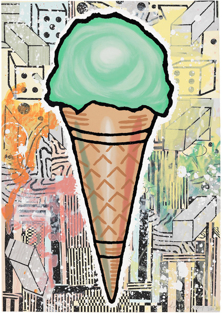 , 'Green Cone,' 2007, Pace Prints