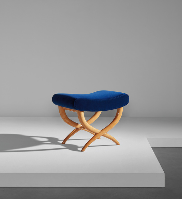 "Jean Royère, '""Curule"" stool', circa 1937, Phillips"