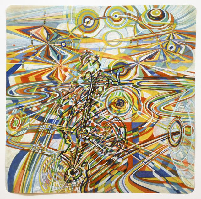 , 'Four Corners,' 2016, Pierogi