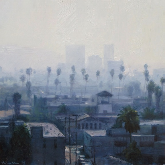 , 'Palms and Haze,' 2014, Jenkins Johnson Gallery