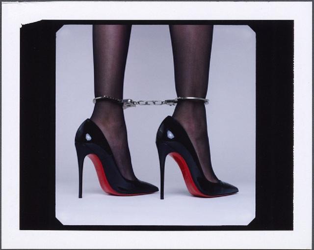 Tyler Shields, 'High Heel Handcuffs', 2020, Photography, Chromogenic Print on Kodak Endura Luster Paper, Isabella Garrucho Fine Art