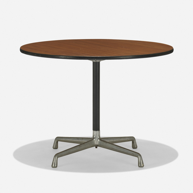 Charles and Ray Eames, 'Aluminum Group table', c. 1965, Wright