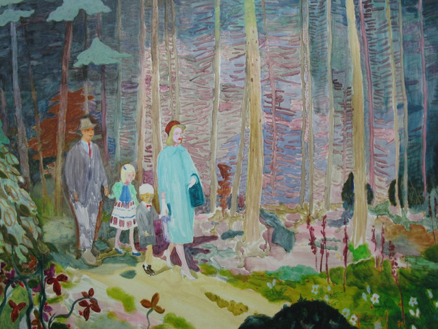 Eleanor Moreton, 'Walking in the Forest of Doubt', 2016, Arusha Gallery