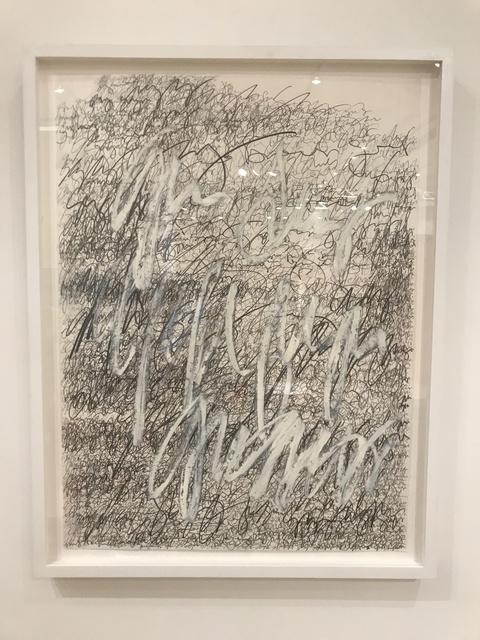 , 'Asemic N0129.18,' 2018, DIALECTO Gallery