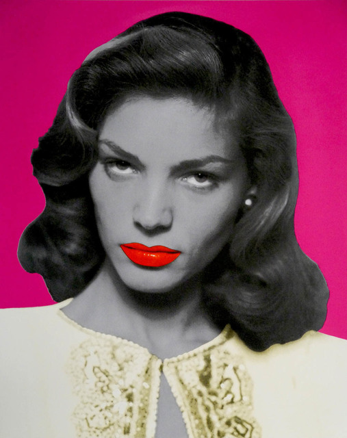 David Studwell, 'Lauren Bacall, Pink', 2017-2019, Print, Screen print, Tanya Baxter Contemporary
