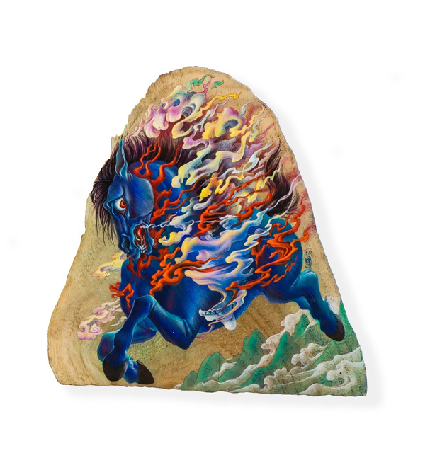 , 'Who is on the Horse?,' 2018, Mizuma Art Gallery