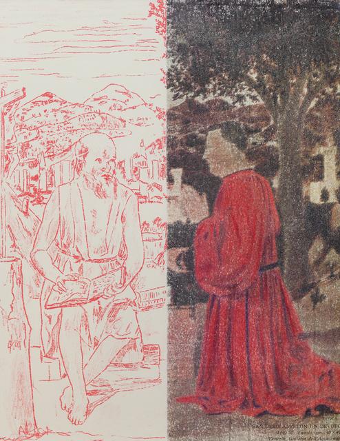 , 'San Girolamo e il donatore,' 2014, Keitelman Gallery