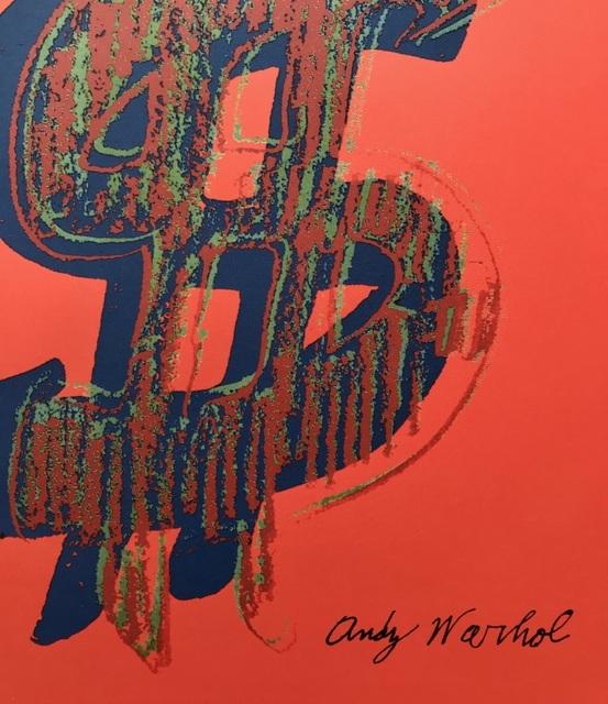 Andy Warhol, 'Dollar Sign', 1986, ByNewArt