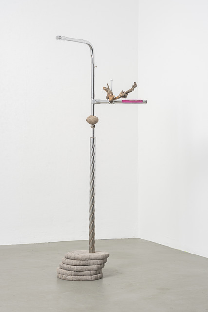 Vikenti Komitski, 'Untitled', 2021, Sculpture, Metal, concrete, wood, HVW8 Art + Design Gallery