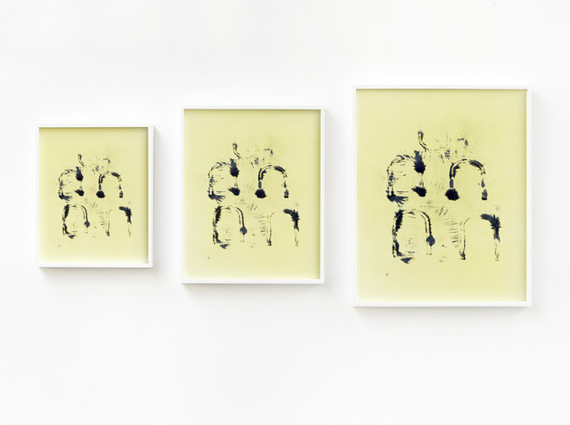 , 'Untitled (Eisenspäne Triptychon),' 2012, KÖNIG GALERIE