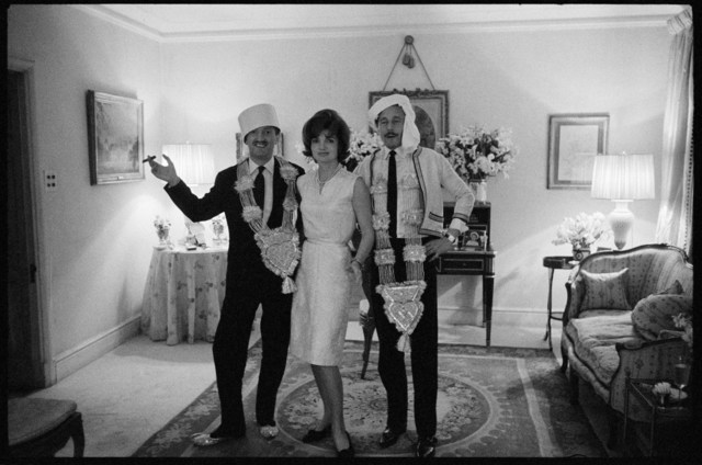 Benno Graziani, 'Jackie Kennedy, Oleg Cassini and Benno Graziani, London, March 1962', 1962, Photography, Silver gelatin Baryta paper, Galerie XII