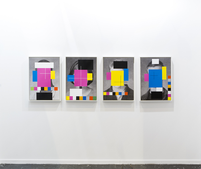 , 'CMYK Heads,' 2015, Daniel Faria Gallery