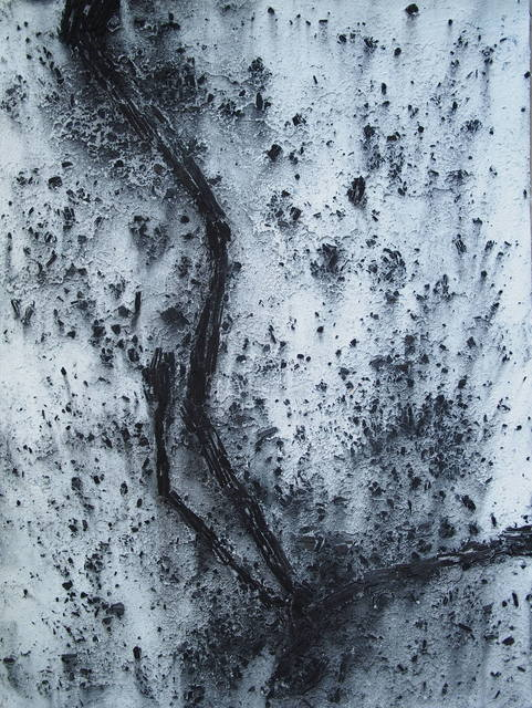 , 'L'homme qui tombe (Citation A. Giacometti),' 2018, ONIRIS - Florent Paumelle