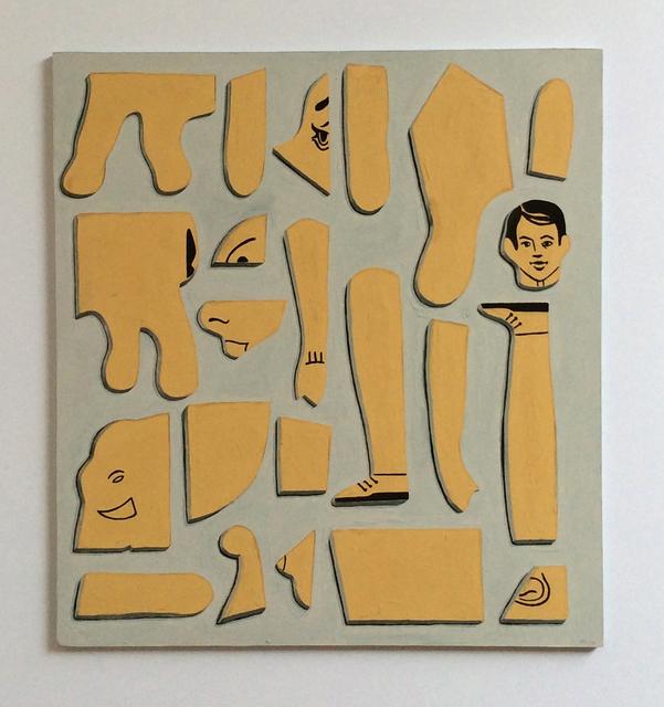 , 'Puzzle,' 2014, Albert Merola Gallery