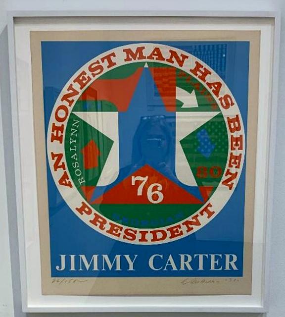 , 'For Jimmy Carter: An Honest Man Has Been President (Sheehan, 112),' 1980, Alpha 137 Gallery