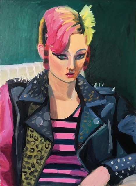 Anna Lukashevsky, 'Punk Girl', 2019, Rosenfeld Gallery