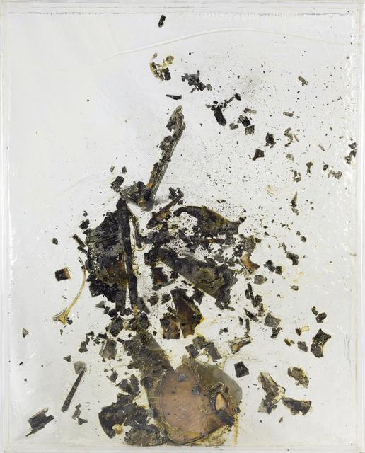 , 'Untitled (Burned Violin),' 1969, RUDOLF BUDJA GALLERY