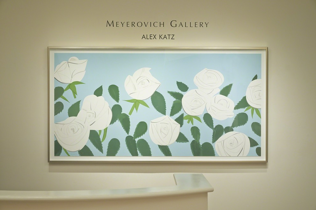 Alex Katz installation at Meyerovich Gallery