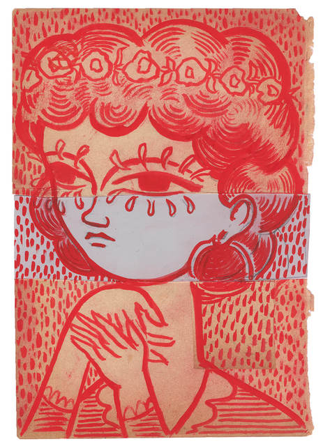 , 'Red Girl,' 2016, Horton Gallery