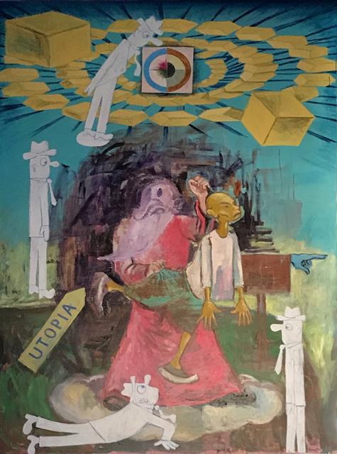 , 'Utopian Cargo,' 2017, Galerie Nathalie Obadia