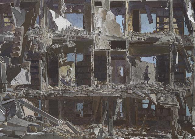 , 'La Bibliothèque dévastée, 2016,' 2016, Ditesheim & Maffei Fine Art