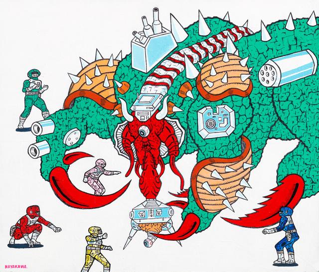 Motohiro Hayakawa, 'Space Battles Series 1 - #5', 2010-2016, Coleccion SOLO