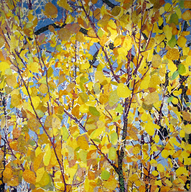 , 'Aspens,' , Glenn Green Galleries