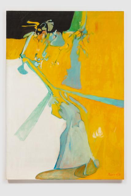 , 'Untitled I (Yellow Black),' 1971, Susan Eley Fine Art