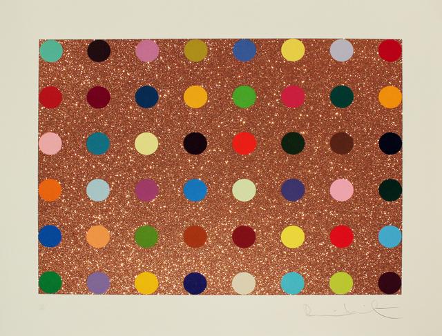, 'Bronze Glitter Spots,' , Gormleys Fine Art