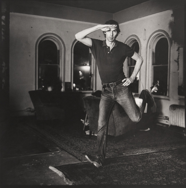 , 'Self Portrait Jumping (I),' 1974, ClampArt