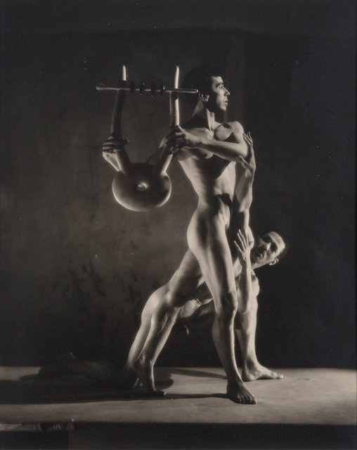 George Platt Lynes, 'Group of seven vintage gelatin silver prints from the 1948 Balanchine Orpheus', Doyle