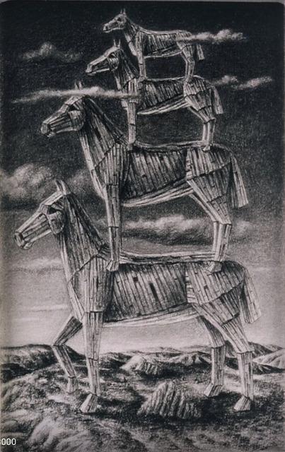 , 'Four Stack,' 1995, Sylvia White Gallery