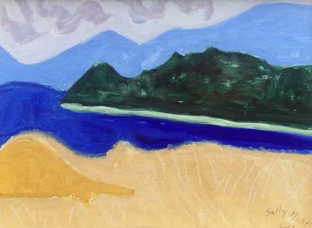 , 'Cooper's Mountain and the Reservoir,' 1977, Childs Gallery