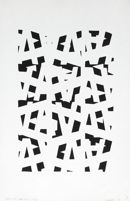 , '1 Poemas visuales (Instalación de 6 obras) Edición 1984,' 1984, Galería del Paseo