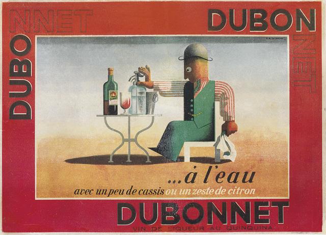 D'Après Adolphe Mouron Cassandre, 'DUBO DUBON DUBONNET', 1935, Swann Auction Galleries