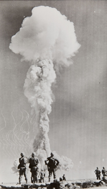 Atomic Bomb Experiment, 'Atomic test , Nevada proving ground', 1952, Repetto Gallery