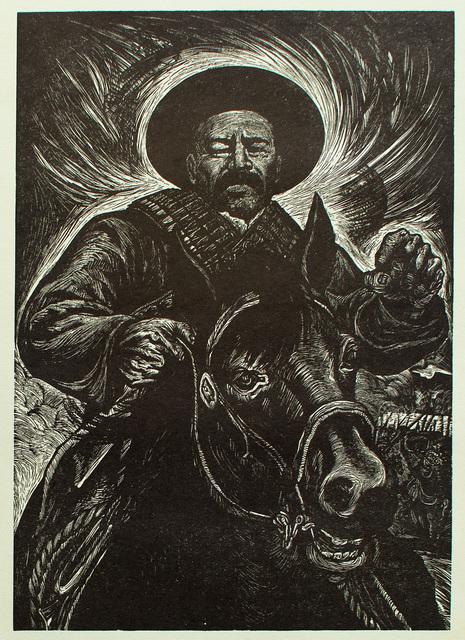 , 'El Grán Guerrillero Francisco Villa (1877-1923),' 1960, Hecho a Mano