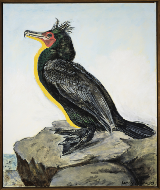 Larry Rivers, 'Double Crested Cormorant,', 1997, Painting, Oil on canvas, The Sunfair Gallery