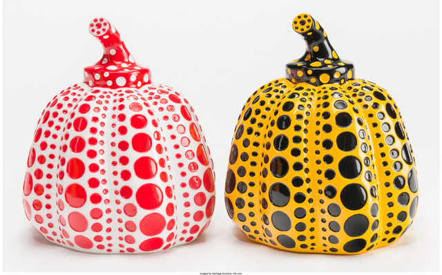 Yayoi Kusama, 'Red and Yellow Pumpkin (Open Edition) (2 works)', Heritage Auctions