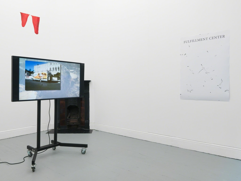 Installation shot, Pedro Barateiro. Photo by Original&theCopy.