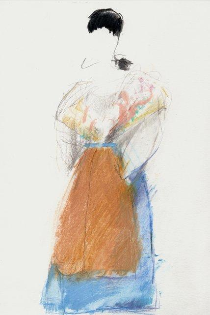 , 'Ligurian Dress,' 2018, NK Gallery